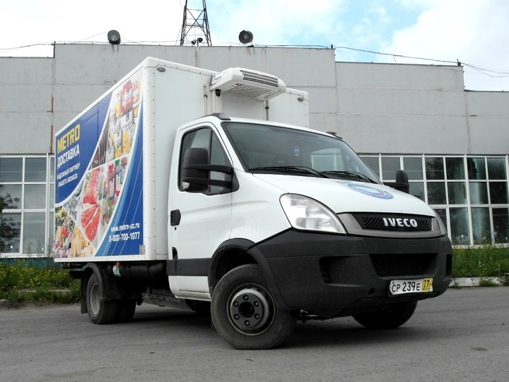 Iveco Daily 65С14 (АФ-47420А), двигатель Natural Power, газ (CNG/метан) + бензин