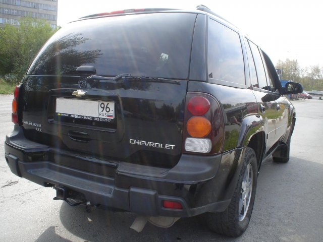 Вид сзади Chevrolet TrailBlazer