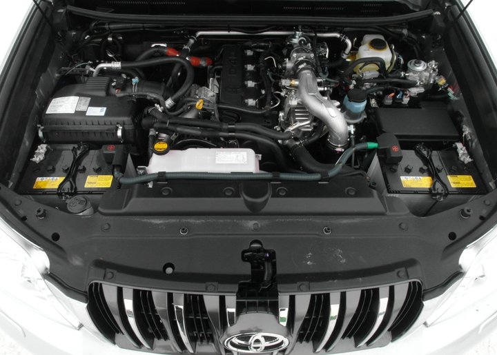 Установка Eberspacher Hydronic D5W S на Toyota Land Cruiser Prado 150