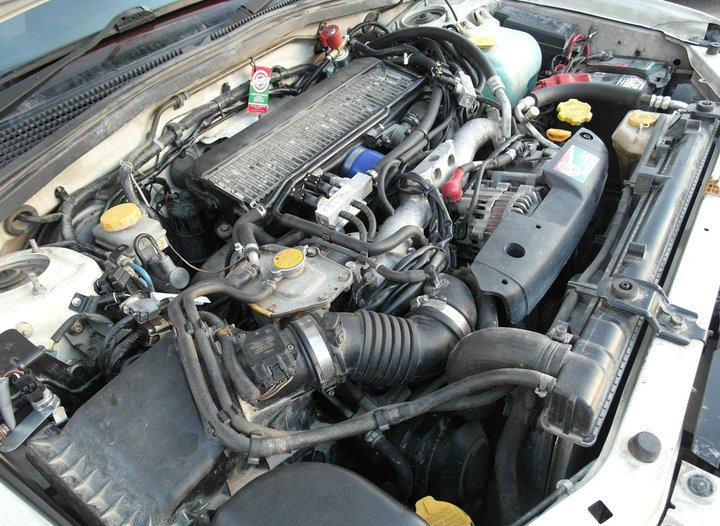 Подкапотная компоновка ГБО, Subaru Forester 2.0 Turbo