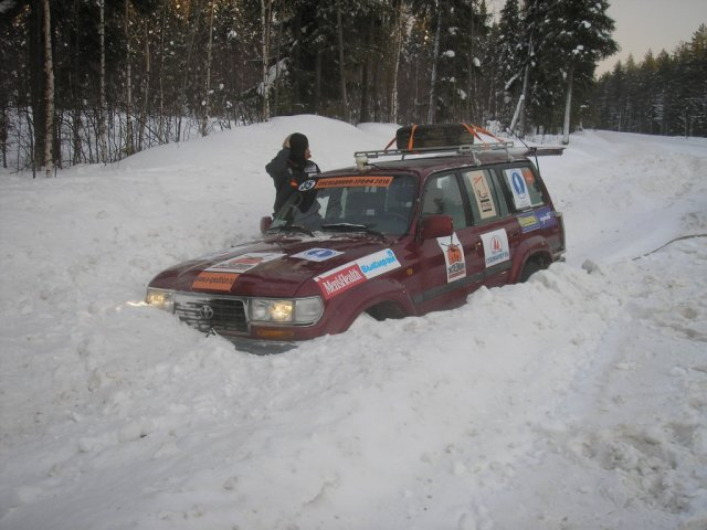 Спецучасток Toyota Land Cruiser 80