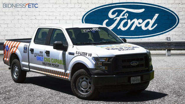 Ford F-150 2016 CNG