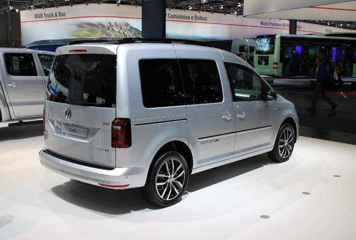 Volkswagen Caddy Edition 35 TGI, IAA 2016