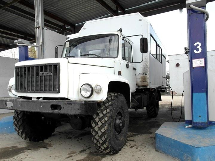 ГАЗ 3308 Садко на АГНКС