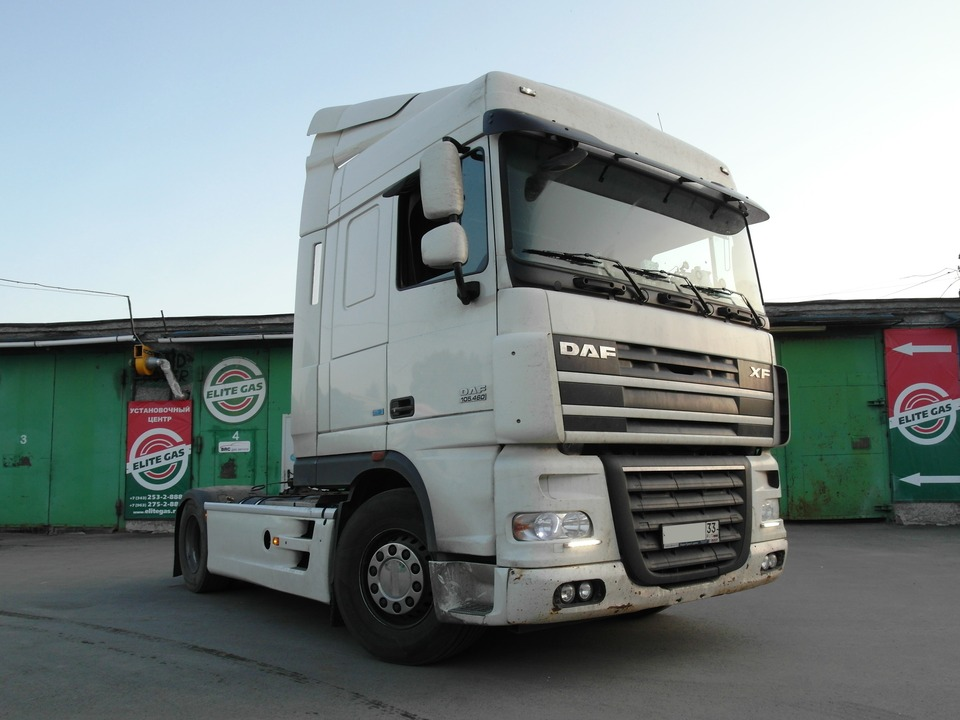 DAF FT XF 105.460, газодизель