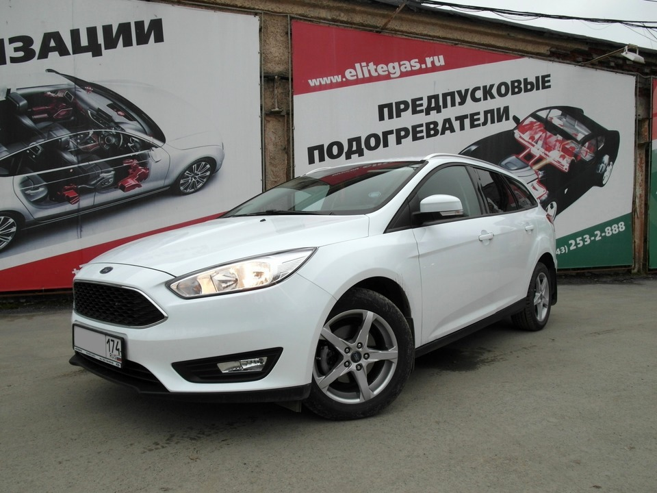 Ford Focus III SW 2017, двигатель Duratec Ti-VCT 16V Sigma (PNDD) 1.6 л, 125 л.с.