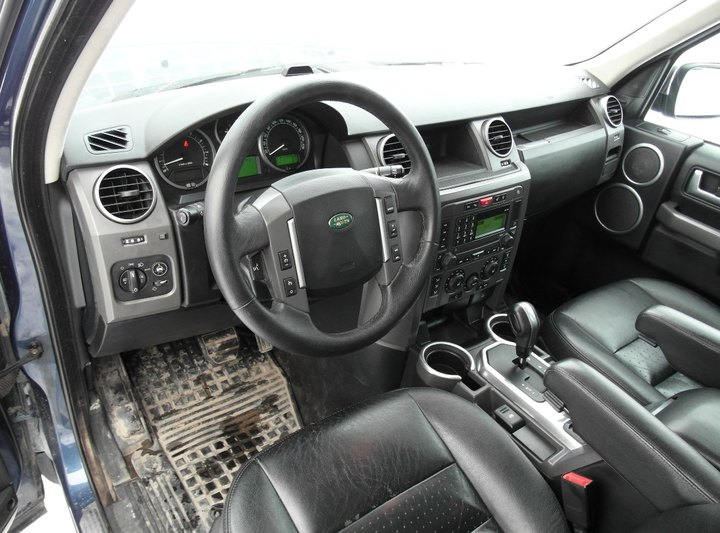 Салон Land Rover Discovery 3