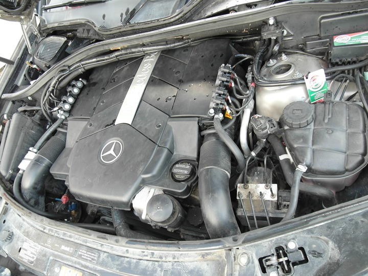 Подкапотная компоновка, ГБО AEB, Mercedes Benz ML500 (W164)
