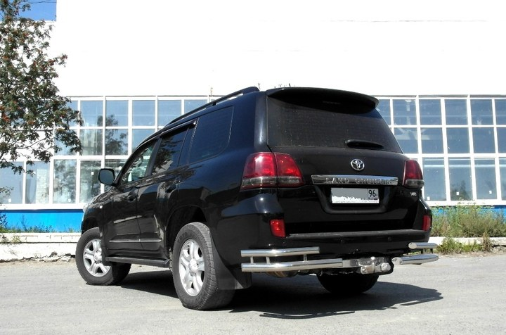 Toyota Land Cruiser 200, двигатель 2UZ-FE