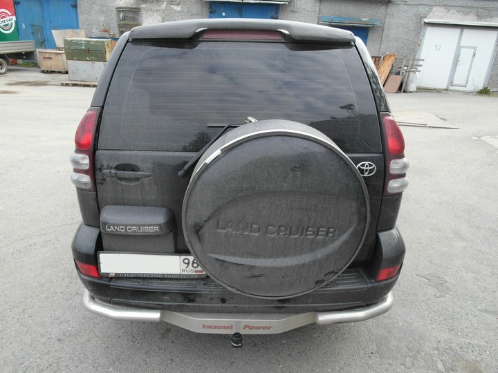 Вид сзади, Toyota Land Cruiser Prado 120