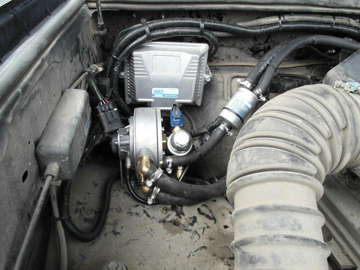ЭБУ и газовый редуктор, Toyota Land Cruiser Prado 120