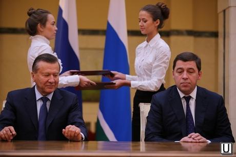 Виктор Зубков, Евгений Куйвашев
