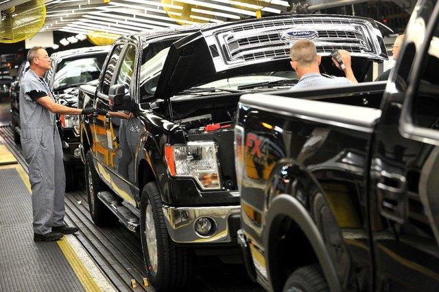 Ford, производство F-150
