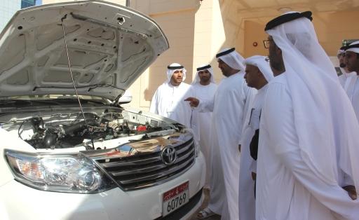 Министерство ОАЭ переводит свой транспорт на природный газ