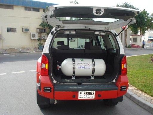 ОАЭ, автомобиль на метане