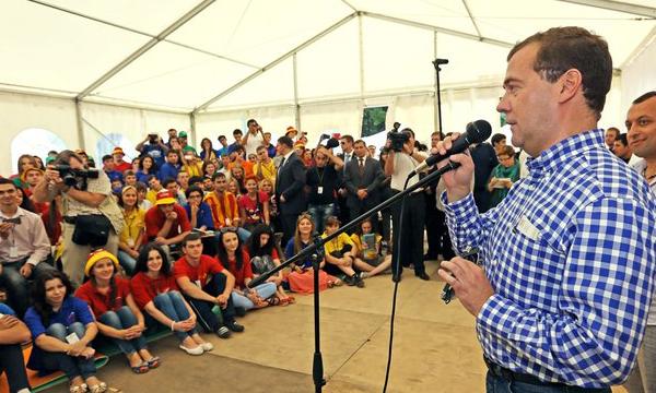 Дмитрий Медведев призывает устанавливать газовое оборудование