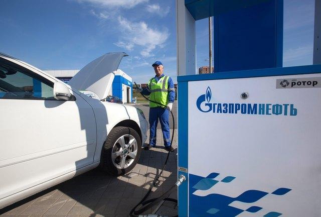 газпромнефть, природный газ (КПГ)