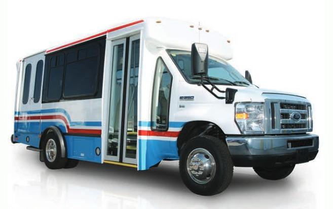 FORD E-350 маршрутный автобус