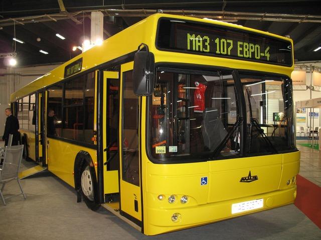 автобус МАЗ-107 с двигателем ЕВРО-4