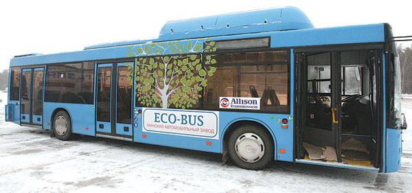 автобус МАЗ-203965 с газовым двигателем