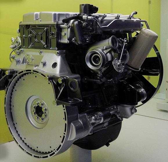 Газодизельный двигатель от Tata Motors и Westport 5 литров был представлен на выставке India's Auto Expo
