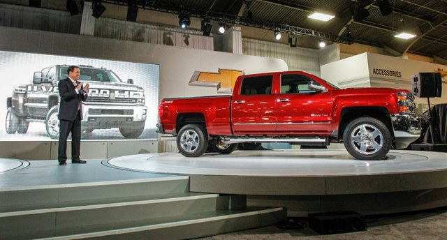 Битопливный метановый Chevrolet Silverado 2015 2500 hd