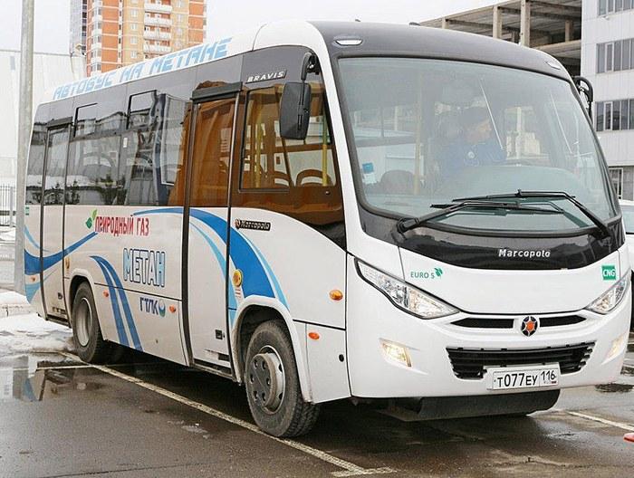 Городской автобус Bravis КПГ
