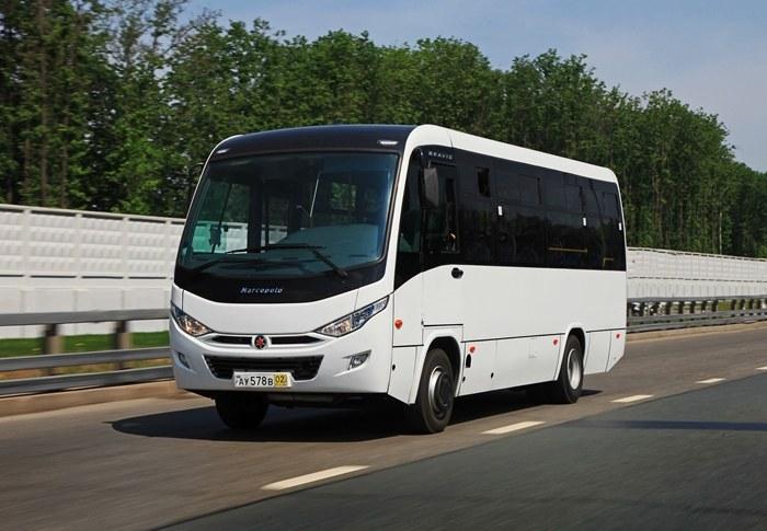 газомоторный автобус Bravis, автобус на метане