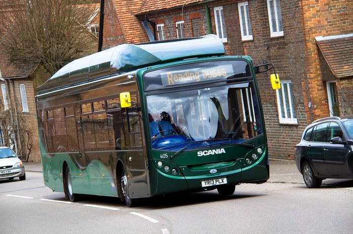 Reading Buses, Scania KUB 270, автобус на биометане