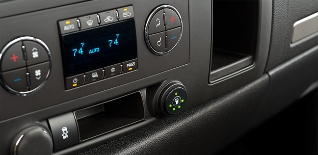 Chevrolet Silverado 2500HD, сенсор уровня природного газа