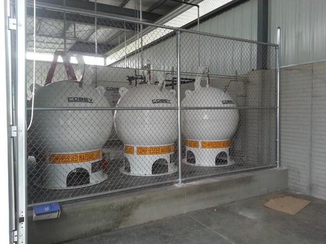 сферические метановые контейнеры Cobey для АГНКС