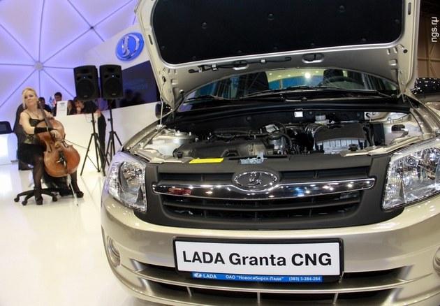 Lada Granta CNG, Лада Гранта на газе, КПГ