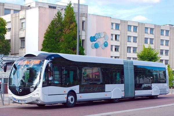 газовый автобус Iveco Crealis на метане