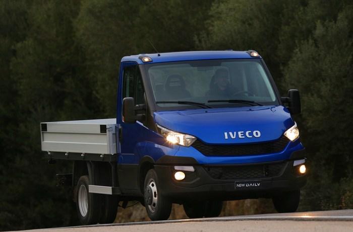 газовый Iveco New Daily CNG, шасси с кабиной