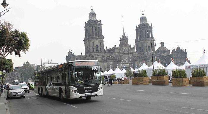 метановый автобус Scania Euro 6, CNG