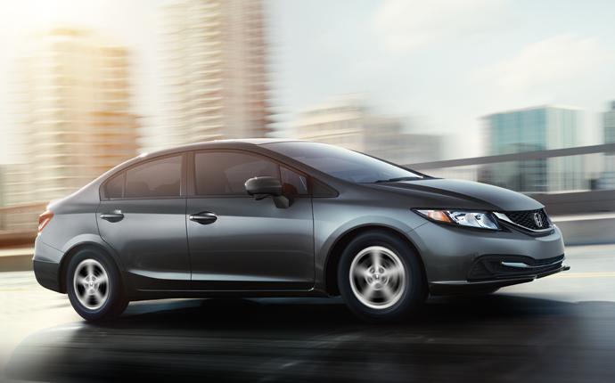 Honda Civic Natural Gas 2014