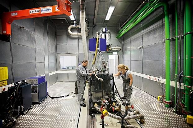 исследовательский центр MAN по разработке двигателей