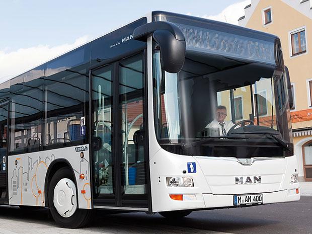 MAN Lion's City CNG, автобус на природном газе