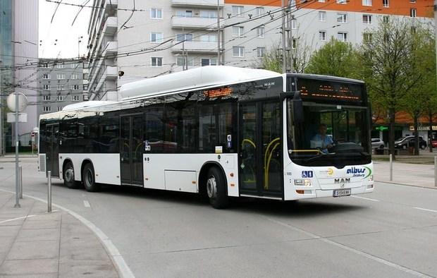 газовый автобус, MAN Lion's City CNG