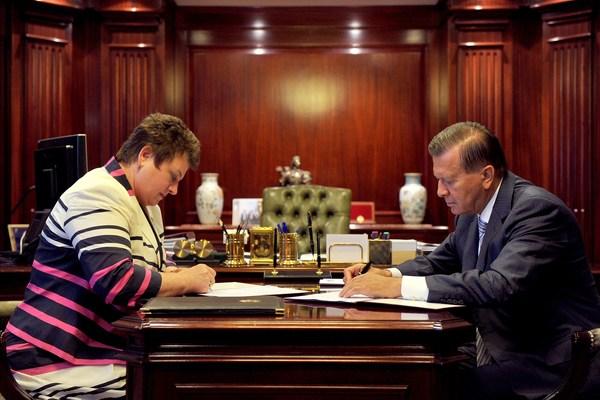 губернатор Владимирской области Светлана Орлова, Виктор Зубков, Газпром Газомоторное Топливо
