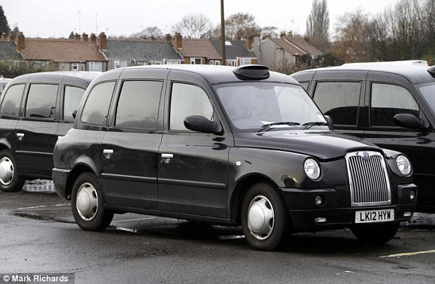такси black cabs TX4