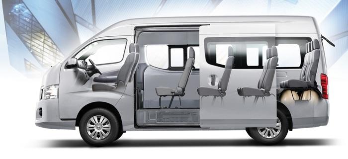 вид сбоку, Nissan Urvan CNG NV350