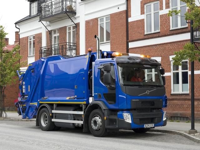 Volvo Trucks представили модель FE на метане