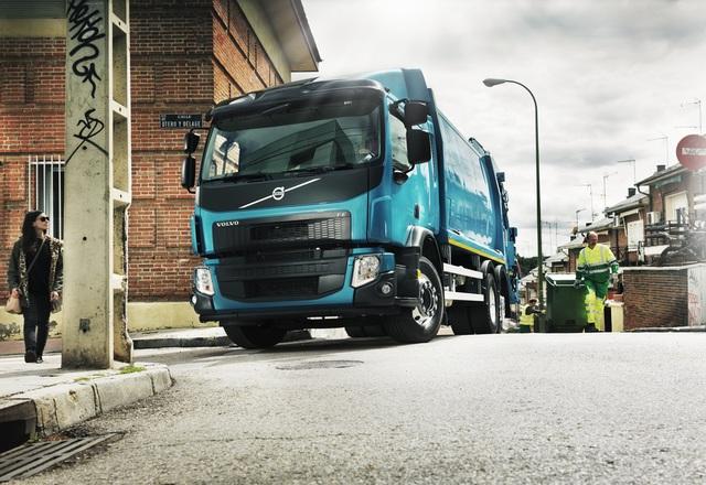 Volvo FE CNG, грузовик на метане