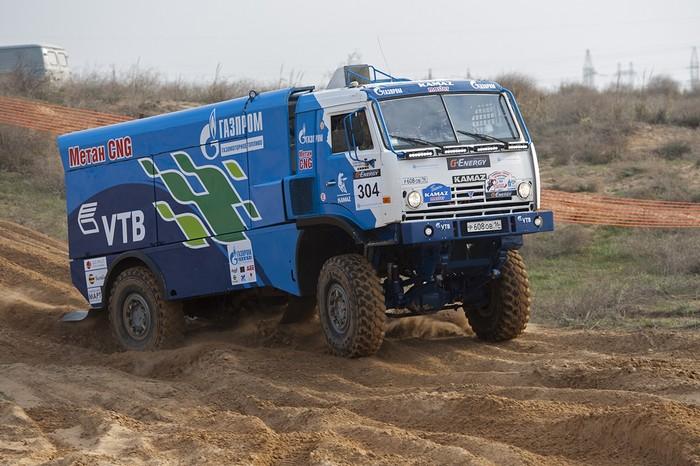 газодизель КАМАЗ, грузовик на дизеле и метане