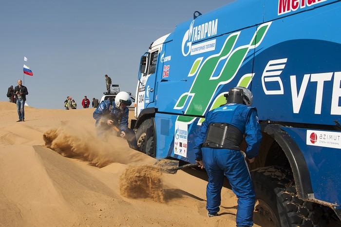 газодизельный КАМАЗ, гибридный грузовик