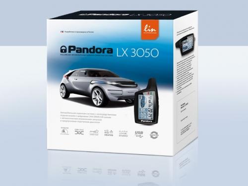 Автосигнализация pandora lx 3050, для автомобилей Лада, Екатеринбург