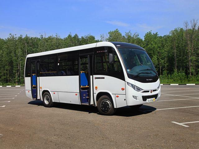 газовый автобус Бравис