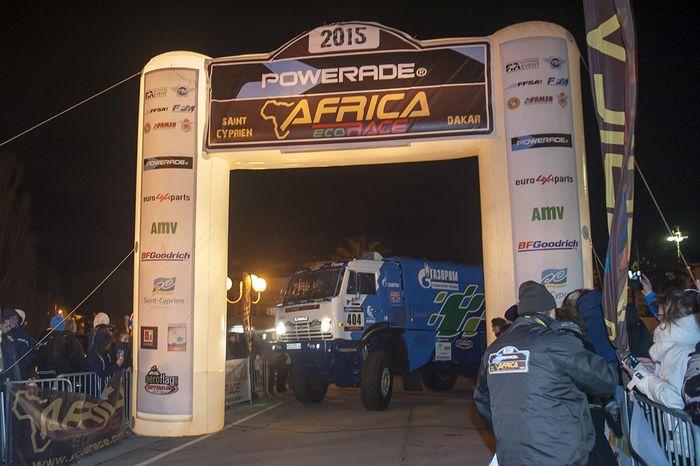 старт ралли Africa Eco Race 2015