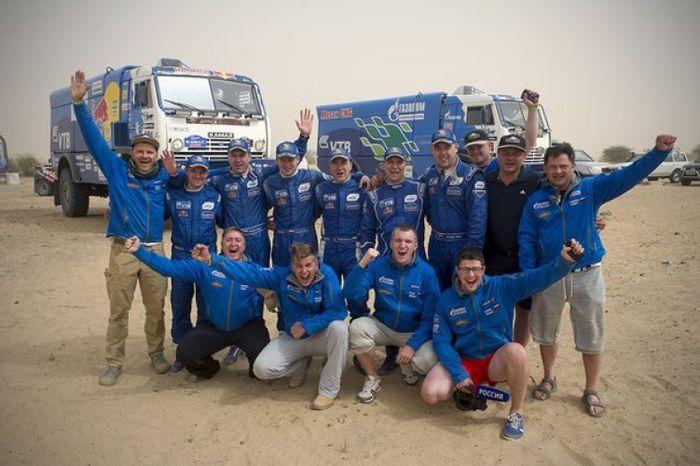 команда КАМАЗ-мастер, Africa Eco Race 2015